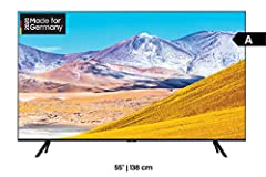 Samsung TU8079 138 cm (55 tum) LED-TV (Ultra HD, HDR10+, Triple Tuner, Smart TV) [Årsmodell 2020]