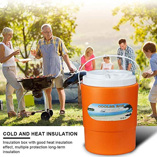 3L Kühlbox Tragbare Campingaz Kühlbox Runder Inkubator Mobiler Lebensmittelinkubator Gekühlt Frisch Haltend Kälte, Auto Und Camping, Reise
