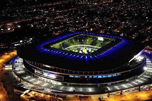 YYLPLLE 1000 Piezas Rompecabezas DIY Madera 3D Arena Estadio Noche para Niños Adultos DIY Ocio Educación Juego Divertido Juguete 50X75 Cm