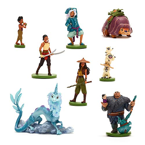 Disney Store Raya and the Last Dragon Deluxe Figur Spielset