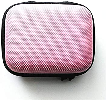 Gametown Protective Case Hard Case Carry Cover Bag Pouch for Nintendo Gameboy Advance SP GBA SP Console Pink