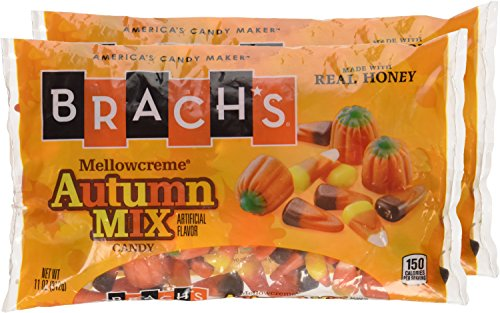 Brach's Autumn Mix, 11oz Bag of Candy (Pack of 2)