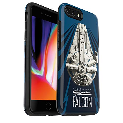 of price on iphone 7 plus dec 2021 theres one clear winner OtterBox Symmetry Series Star Wars Case for iPhone 8 Plus & iPhone 7 Plus (ONLY) Millennium Falcon