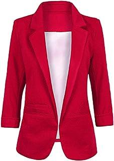 015366c5 Amazon.es: blazer mujer - Rojo