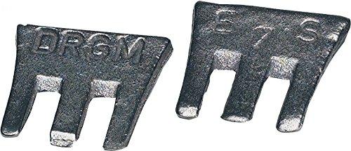TRIUSO profi s-fix clavettes taille 5/32 mm 3 pièces dans le cas de be