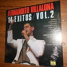 Fernando Villalona 14 Grandes Exitos Vol. 2 (Kubaney - Evesol - Vinyl)