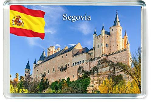 H313 Segovia Imán para Nevera Spain Travel Fridge Magnet
