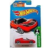 Hot Wheels Tesla Roadster HW Green Speed 1/5 2015 (241/250) Long Card