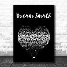 LIFEXGROUP Josh Wilson Dream Small Black Heart Song Lyric Print Wall Decor Art Gifts Lovers Poster