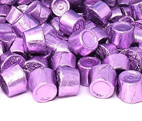 CrazyOutlet Pack - Hershey's Rolo Chewy Caramels in Milk Chocolate, Purple Foil Wrapping, 2 Pound Bag