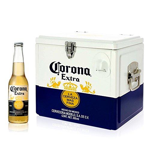 【お花見に】コロナ クーラーボックス + コロナ・エキストラ ボトル [ メキシコ 355ml×12本パック ]