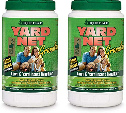 Liquid Fence Set of 2 Granular Insect Bait Lawn Yard Insect Repellent Safe Release 2 lb - Enjoy Insect and Rodent Free Fun