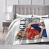 Eppedtul Vogue Matthew Gray Gubler Ultra-Soft Micro Fleece Blanket 50'' X40