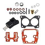 labwork 1 Set Carburetor Carb Kit for Johnson Evinrude Outboards V4 V6 85-235 HP Crossflow 439076