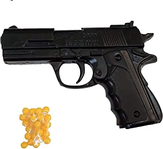 Tradvision Hand Gun PUBG Pistol for Kids with 8 Round Reload and 6 mm Plastic BB Bullets (24pc)