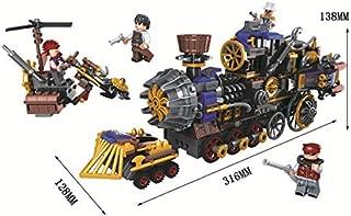 Steam The Thunder Cowboy Bricks Toy Sets (Steam Train 8043)