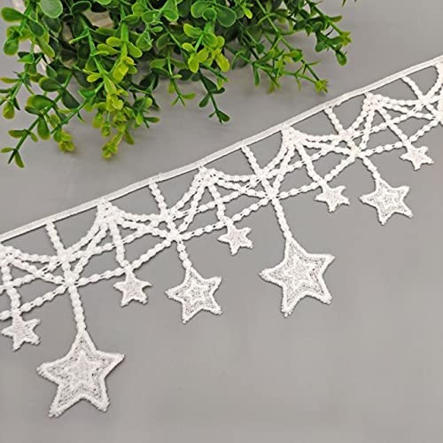 Daisymusse Outlet SALE 2Meters Hollow Out Star Super-cheap Appare Water Soluble Lace DIY