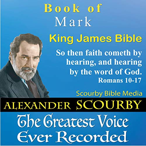 Book of Mark, King James Bible audiobook cover art