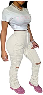 Women Empire Waist Sport Big Pockets Draped Slim Casual Harem Pant