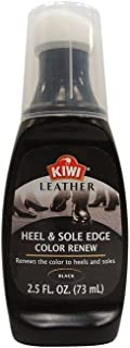 Kiwi 11906 2.5 Oz Black Leather Heel & Sole Edge Color Renew