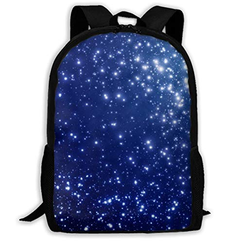 Lawenp Starry Sky Gift Adult Unisex Backpack For School,Travel,Outdoor,