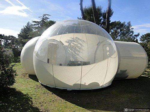 Windundurchlässiges transparentes PVC zelte/Aufblasbare Bubble Zelt Haus Dome Outdoor Clear Show Room