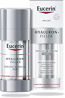 Eucerin Hyaluron Filler Night Peeling and Serum, 2 X 15ml - Pack of 1