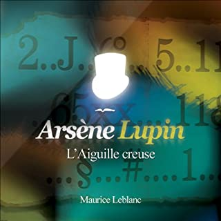 Couverture de L'Aiguille creuse (Arsène Lupin 11)