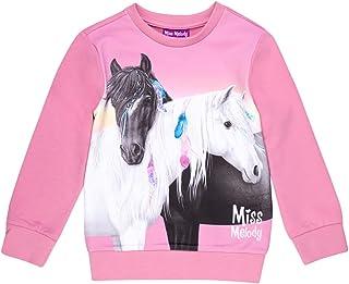 Miss Melody Niñas Sudadera, Sweatshirt, Sweat, Rosa