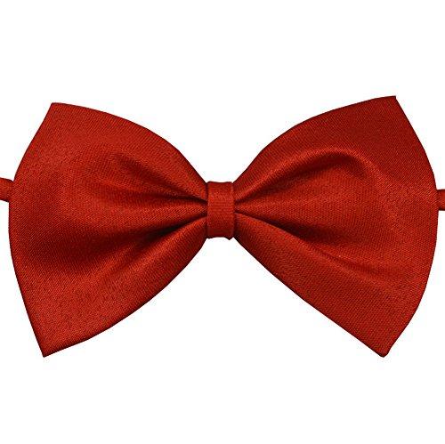 Demarkt homme/garçon-Rouge-Noeud Papillon Polyester Neckties Motif nœuds Papillon