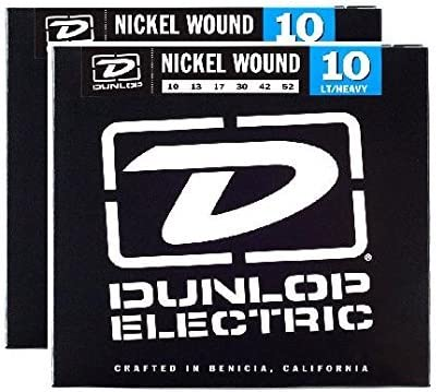 Dunlop Nickel Fees free Wound Electric Guitar Strings 10 2 Jacksonville Mall - 52 Pack