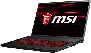 "MSI GF75 Thin 9SC 15.6 inches Gaming Laptop (Black) - Intel i7-9750H,17.3"" FHD Anti-Glare IPS Level Display, NVIDIA GeForce GTX 1650,16 GB RAM, 256GB SDD +1TB HDD + Windows 10 Home, Arabic Keyboard"