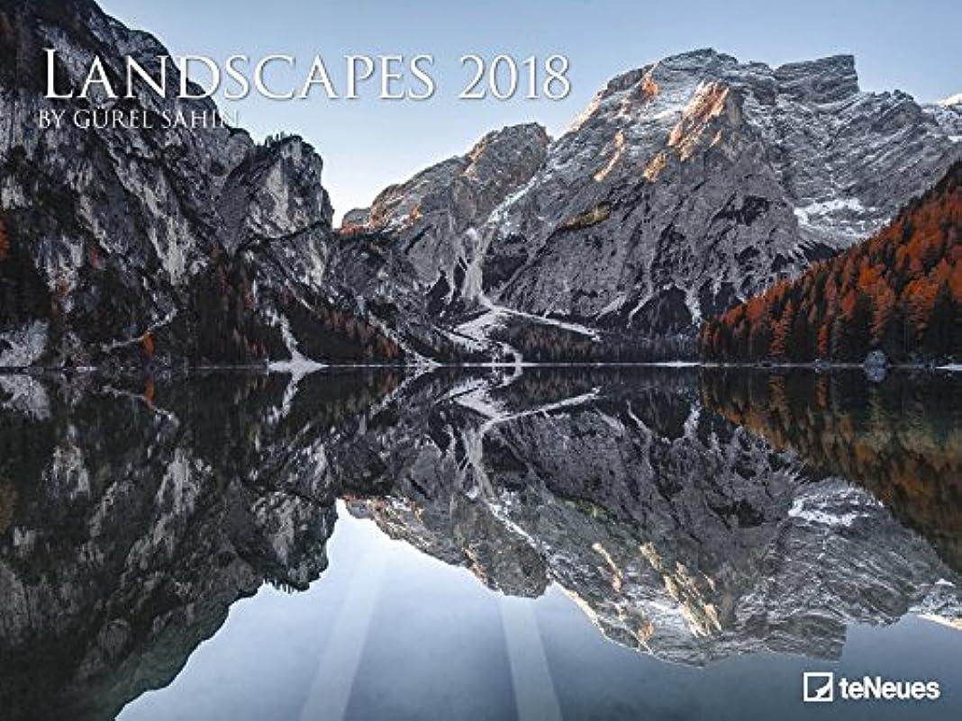 落花生寛大さ動機Landscapes, Guerel Sahin 64 x 48 Poster Calendar 2018