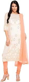 Aurelia Women's Rayon Straight Salwar Suit Set