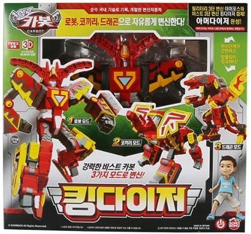Sonokong Hallo Carbot King Daizer Transformator-Roboter