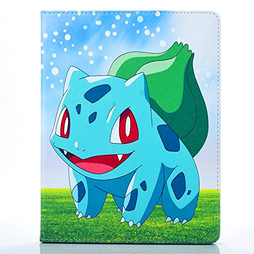 iPad Air Case, Phenix-Color Pokemon Go Premium Flip Stand PU Leather Shell Case for Apple iPad Air / iPad5 (#07)
