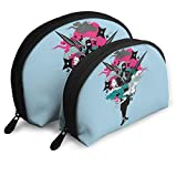 Portable Shell Makeup Storage Bags Cool Japanese Ninja Style Travel Waterproof Toiletry Organizer Clutch Pouch for Women