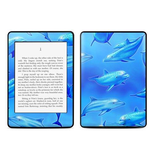 Kindle Paperwhite Skin Kit/Decal - Swimming Dolphins - Dan Morris