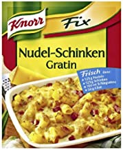 Knorr Fix gratin with noodles and ham (Nudel-Schinken Gratin) (Pack of 4) by Knorr