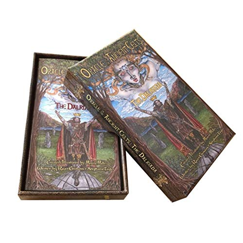 Nemesis Now Oracle of The Ancient Celts The Dalriada Oracle Cards 14cm Brown
