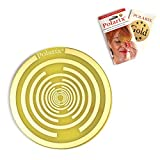 Polarix© Gold - Pain Relief Disc | Chakra Healing Therapy | Pain Relief Patches Alternative Medicine for Pain Killers with Therapeutic Benefits of The Gold | fi 80mm | Lakhovsky & Nikola Tesla Design