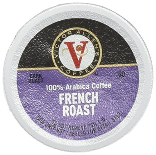 Victor Allen's Coffee 72 Count Single serve cups for Keurig K-Cup Brewers (French Roast)