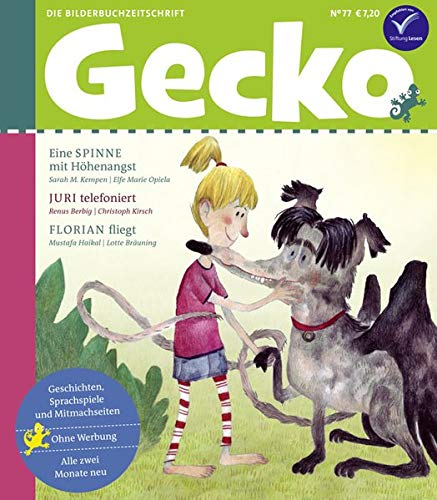 Gecko Kinderzeitschrift Band 77: Die Bilderbuchzeitschrift