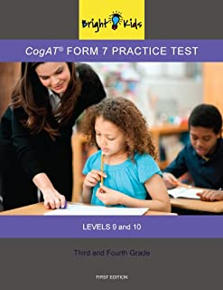 CogAT Form 7 Practice Test - 3rd and 4th Grade (Level 9-10)