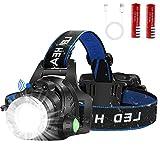 LED Headlamp Flashlight, Motion Sensor USB Rechargeable Led...