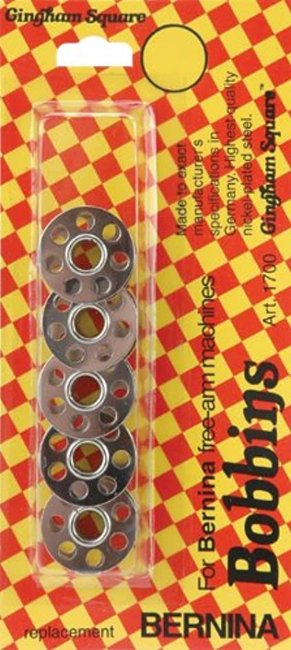 Cameo Bernina Metal Bobbins, 5 Per Package
