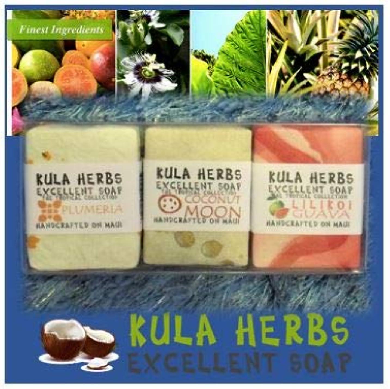 カーフ電子レンジそうハワイの香り?ナチュラルソープ【Kula Herbs excellet】