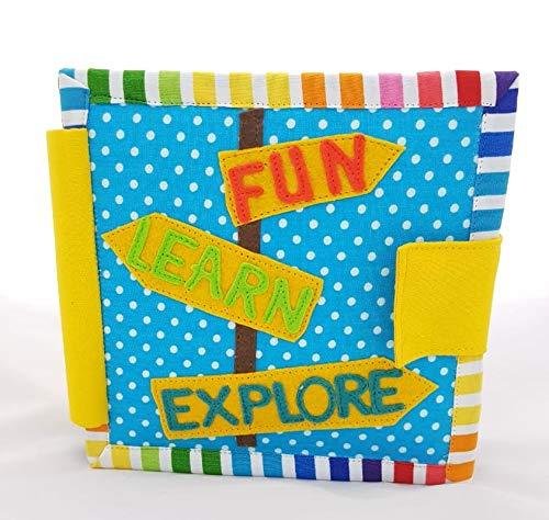 ChubbyCheeks Fun, Learn, Explore Mini Quiet Book