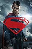 Batman vs Superman - Superman Glyph Film Movie Poster