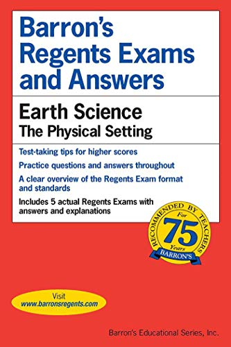 Compare Textbook Prices for Regents Exams and Answers: Earth Science Barron's Regents Exams and Answers  ISBN 2015812031652 by Denecke